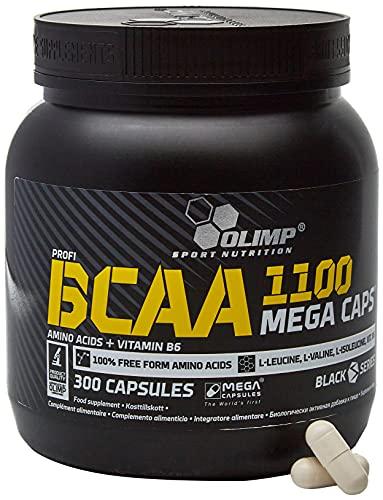 Olimp BCAA 1100 Mega Caps, Black, 300 Kapseln