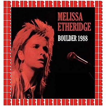 McNichol's Arena, Boulder, Colorado, October 1st, 1988 (Hd Remastered Edition)