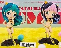 うる星やつら Q posket LUM Ⅱ ラム フィギュア 全2種セット 【通常カラーver./レアカラーver.】