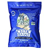 Light Grey Celtic Sea Salt 5 Pound Resealable Bag – Additive-Free, Delicious Sea Salt, Perfect for...
