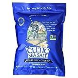 Light Grey Celtic Sea Salt 5 Pound Resealable Bag – Additive-Free,...
