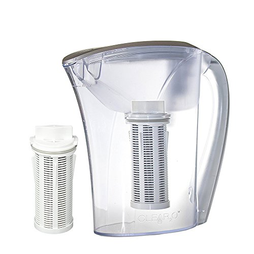 Clear2o GRP200 Advanced Gravity Water Filter Pitcher System (2 Filters Included)