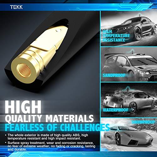 Designed for Optimized FM//AM Reception 4.8 Inches TEKK Short Antenna Compatible with Chrysler Sebring 2007-2010
