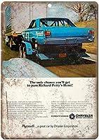 Chrysler Motor Automobile ティンサイン ポスター ン サイン プレート ブリキ看板 ホーム バーために