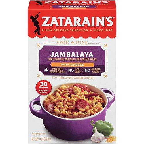 Zatarain's Jambalaya With Cheese, 8 o (Pack of 12)