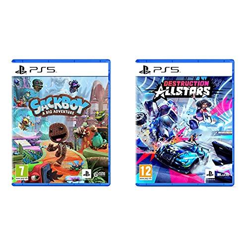 Sackboy: Una Aventura a lo Grande - PlayStation 5 + Destruction Allstars