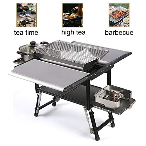 Great Deal! Barbecue Tools Picnic Camping Barbecue Equipment Wild Barbecue Stove Picnic Stove Multif...