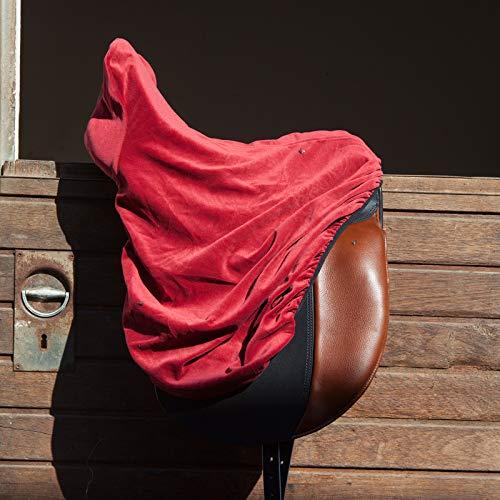 KIEFFER Cubierta de la silla de montar, borgoña