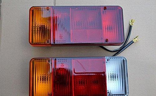 A1 2X Rückleuchte Rücklicht Heckleuchte Verkabelung Kabel Uni NEU