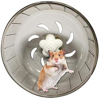 ハムスター回し車 アオハウオ(AWHAO) サイレントホイール 小動物用おもちゃ 運動不足解消 ハムスター用 回し車 静音 小動物 トンネル 直径13cm