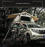 Xljh Tente sur Le Toit Tente de Toit de Voiture de 1,4m sans l'auvent et Tente arrière Toit de Tente à 4 Roues motrices