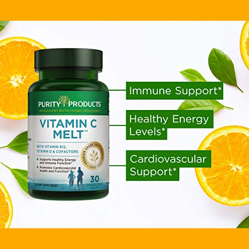 Purity Products - Vitamin C Melt,30 dissolving tablets