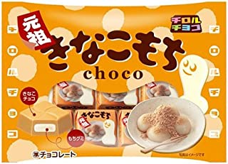 Tirol Kinako Mochi Rice Cake Gummi Soy Flour Chocolate 42g (Pack of 2)