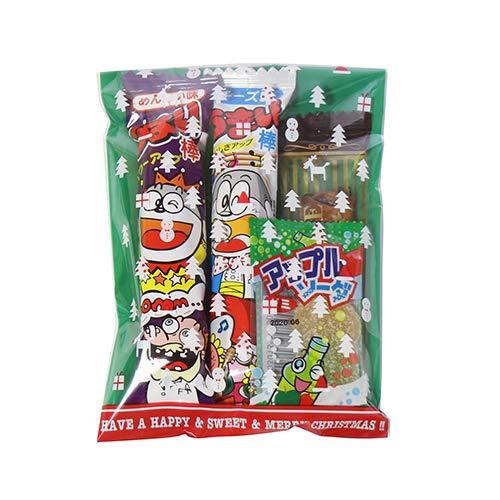 クリスマス袋 120円 お菓子 詰め合わせ(Bセット) 駄菓子 袋詰め おかしのマーチ