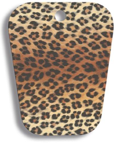 Delfa Boot Show Animal Look Leopard Set mit 2 Paaren, Stiefelschaftformer, Stiefelspanner, Deko Hilfe