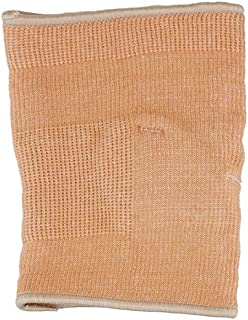Rolyan Knit Elbow Support with Gel Pad,  Elbow Compression Sleeve for Recovery from Muscle & Joint Pain or Swelling in the Arm,  Lightweight Cotton/Elastic Wrap for Tendinitis,  Beige,  X-Large