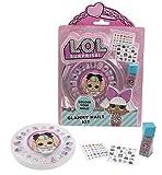 Giochi Preziosi LOL Surprise, Glammy Nail Kit, Crea e Decora le tue Unghie, con Accessori