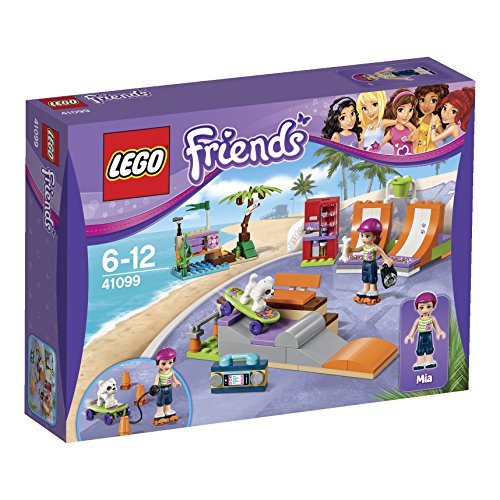 LEGO Friends 41099 - Heartlake Skatepark, Konstruktionsspielzeug