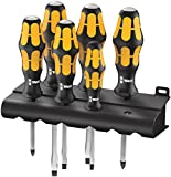 Wera - 5018282001 932/6 Kraftform Plus Screwdriver Set and...