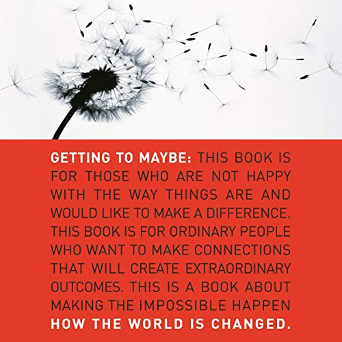 Getting to Maybe     How the World Is Changed              De :                                                                                                                                 Frances Westley,                                                                                        Brenda Zimmerman,                                                                                        Michael Patton                               Lu par :                                                                                                                                 Justine Eyre                      Durée : 7 h et 18 min     Pas de notations     Global 0,0