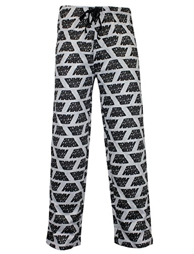 Star Wars Pantalones de Pijama para Hombre Gris Small