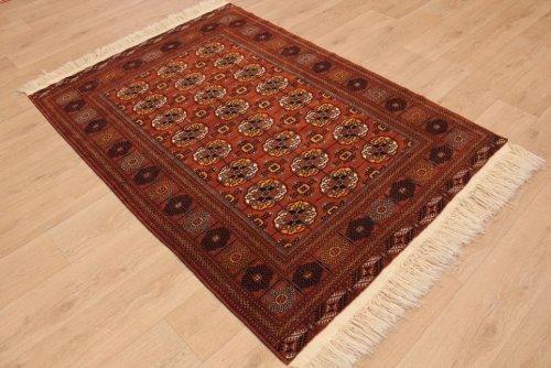 ETFA Teppiche Orientteppich Tekke Turkmen Wollteppich 198x135 cm