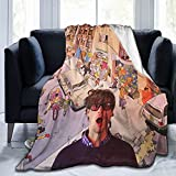 Matthew Gray Gubler Ultra-Soft Micro Fleece Blanket Home Decor Throw Lightweight for Couch Bed Sofa 60'X50'