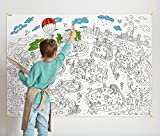 O-Kroshka Colorings for Children Zooland. Coloring Pages for Kids and Adults. Color me Posters for Family. Big Giant Coloring Poster! by