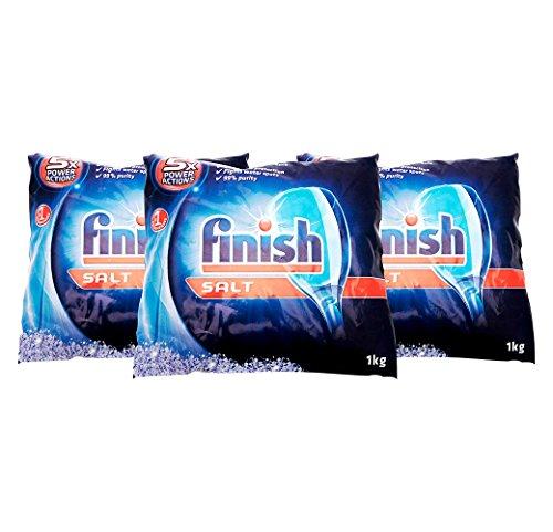 Finish Dishwasher Water Softener Salt for Bosch Dishwasher, 2.2 lbs (Pack of 3)