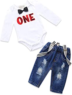 Best first birthday outfits boy winter Reviews