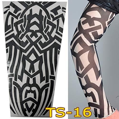 tzxdbh Vielzahl von Tattoo - Ärmeln, Sonnencreme Manschette, Persönlichkeit, Outdoor, Tattoo, Ärmel, Blume Arm TS16 (sin