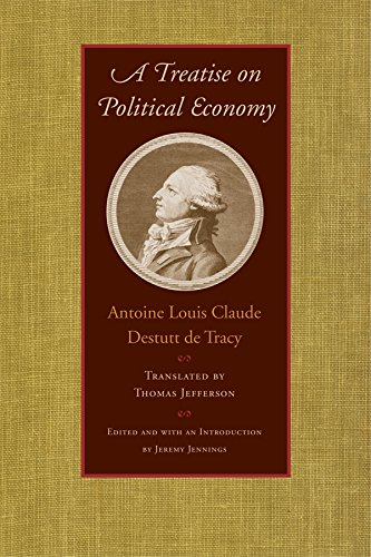 Tracy, A: Treatise on Political Economy