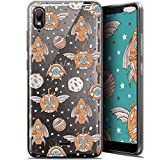 Wiko View 2 Go Case for 5.93 Inch Ultra Slim Punk Space