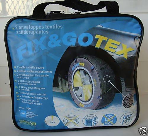SIEPA Chaussettes Neige Tourisme Fix & GO TEX S,Taille : 165/70-13