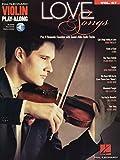 Love Songs: Violin Play-Along Volume 67