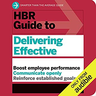 HBR Guide to Delivering Effective Feedback                   By:                                                                                                                                 Harvard Business Review                               Narrated by:                                                                                                                                 Liisa Ivary,                                                                                        Jonathan Yen                      Length: 4 hrs and 37 mins     1 rating     Overall 5.0