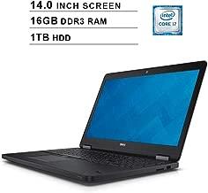 2019 Premium Dell Latitude E7450 Ultrabook 14 Inch Business Laptop (Intel Dual Core i7-5600U up to 3.2GHz, 16GB DDR3 RAM, 1TB HDD, Intel HD 5500, WiFi, HDMI, Windows 10 Pro) (Renewed)