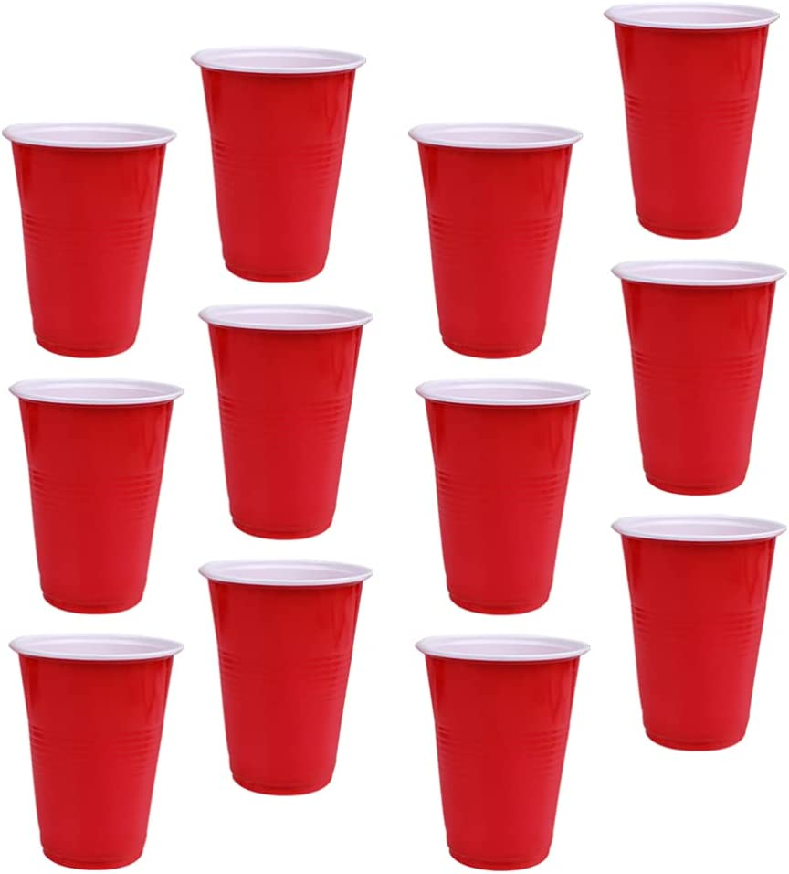 Baltimore Mall DOITOOL 48pcs Shot Popular shop is the lowest price challenge Glasses Disposable Party Pl Pong Cup Mini Red