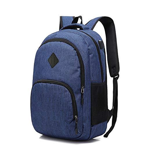 Msbir Computer Bag Middle School Bag mannen USB Outdoor Rugzak Vrije tijd Schoudertas Beste Airport Reizen Rugzak Zakelijke Laptop Rugzak voor