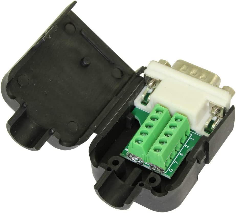 MyCableMart Serial Port DB9 outlet Male to Jacksonville Mall Boa Connector Terminal RS232
