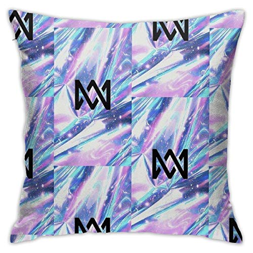 XCNGG Funda de almohadaMake A Smile Bedroom Throw Pillow Covers Home Decorative Couch Sofa Square Pillow Case 18x18 in