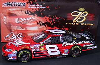 2005 Dale Earnhardt Jr #8 Budweiser Chevy Rock and Roll 3 Three Doors Down Budweiser True Music Edition 1/24 Scale Diecast Opening Hood, Opening Trunk Limited Production Only 18924 Total Production