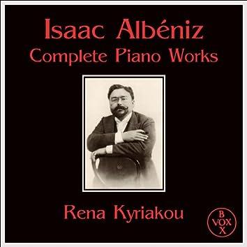 Isaac Albéniz Complete Piano Works (VOX Reissue)