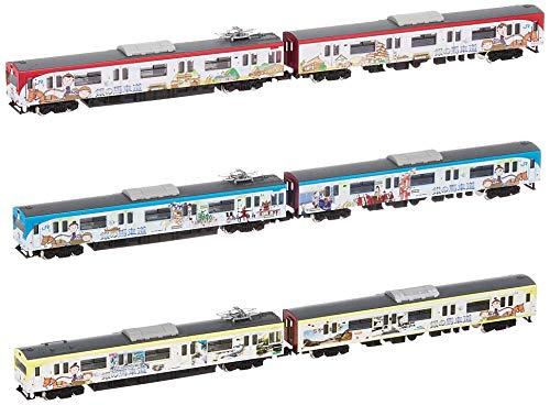 グリーンマックス Nゲージ JR103系 (播但線・銀の馬車道ラッピング列車)6両編成セット (動力付き) 50654 鉄道模型 電車