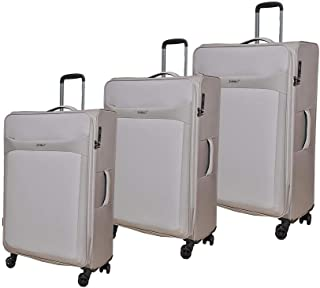 Magellan Luggage Trolley Bags , Set of 3 Pieces , Grey