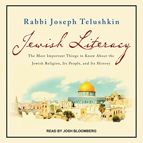 Jewish Literacy Revised Ed audiobook cover art