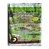 VERDESANA Sustrato de Cultivo Universal Plantas Interior Exterior con Turba Rubia, Fibra de Coco y Perlita Original Galicia 10 litros