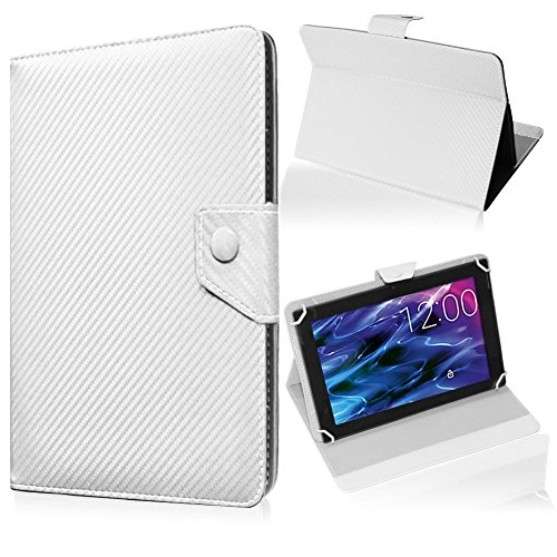 UC-Express Medion Lifetab P9702 X10302 P10400 P10506 Tablet Hülle Weiss Tasche Case Cover