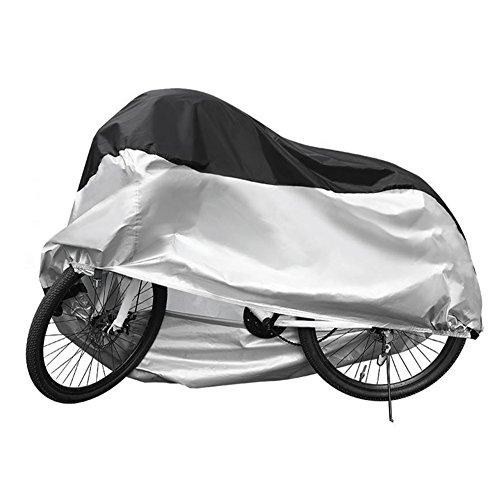 AiJump 26-Zoll-Fahrrad Fahrradabdeckung Wasserdichte Langlebig Winddicht Schneeschutz Hitzebeständigkeit Staubdicht UV-Schnitt Fahrrad Schutzhülle L 190*65*98cm