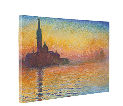 Niwo Art - Dusk in Venice, by Claude Monet - Oil Painting Reproductions -